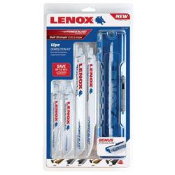 Lenox bajonettsagbladsett 12 deler